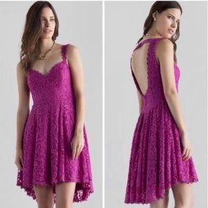 Francesca's lace sweetheart dress NWT